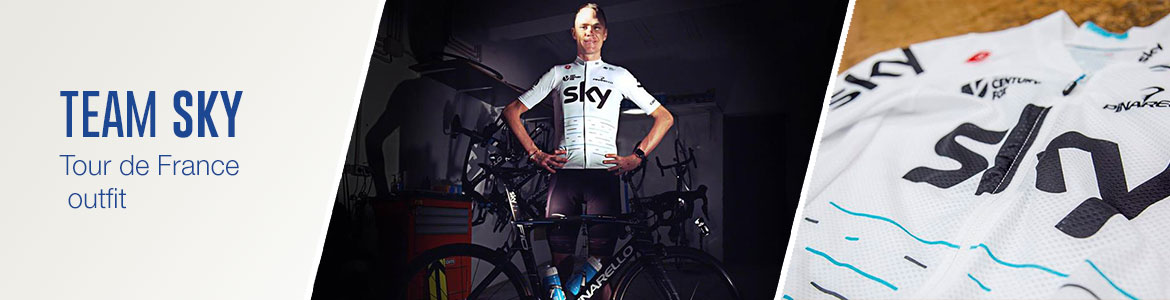 Team Sky in speciale Tour de France outfit