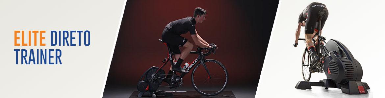 De nieuwe Elite Direto interactieve fietstrainer