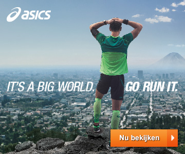 It's a BIG world. Go run it. ASICS