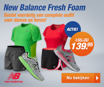 New Balance Fresh Foam actie