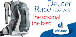 Deuter Race rugzakken. The original, the best