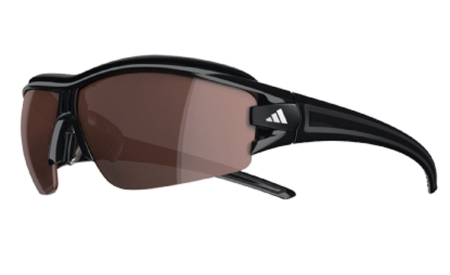 picture Evil Eye Halfrim Pro S LST Polarized Silver Zonnebril Shiny Black