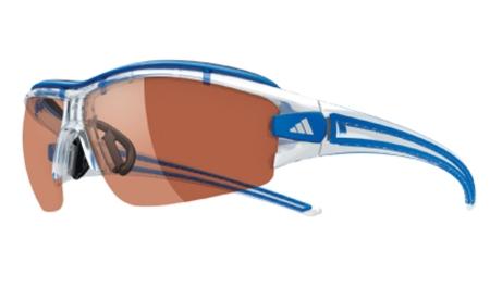 picture Evil Eye Halfrim Pro S LST Active Silver Zonnebril Crystal Blue