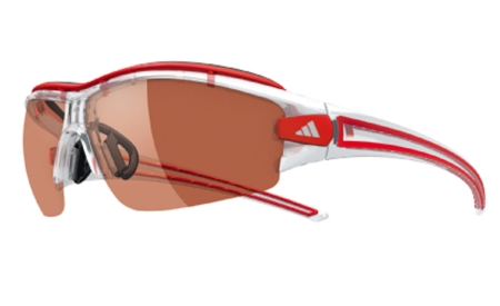 picture Evil Eye Halfrim Pro S LST Active Silver Crystal Red Zonnebril