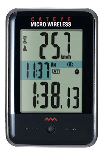 picture Micro Wireless CC-MC200W DL Zwart Fietscomputer