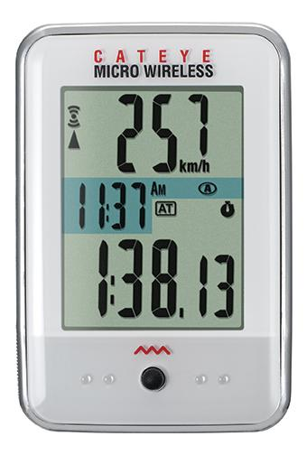 picture Micro Wireless MC200W Fietscomputer Draadloos Wit
