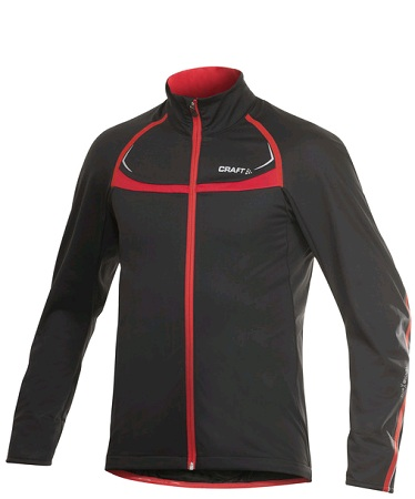 picture Performance Stretch Fietsjacket Zwart/Rood Heren