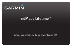Garmin NuMaps Lifetime Europa