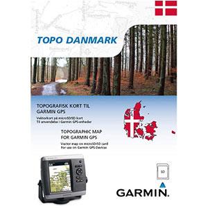 Garmin Topo Denemarken (micro)SD