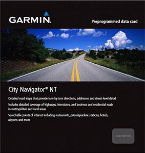 Garmin City Navigator NT Oostelijk Afrika MicroSD/SD
