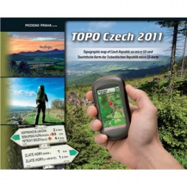 Garmin Topo Tsjechie op microSD/SD-kaart