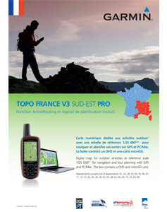 Garmin Topo Frankrijk Zuidoost V3 Pro DVD