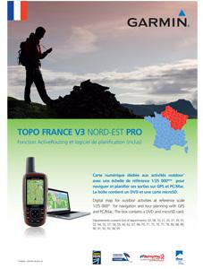 Garmin Topo Frankrijk Noordoost V3 Pro DVD