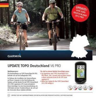 Garmin Update DVD Topo Duitsland V6 (voor Topo Duitsland 2012 gebruikers)