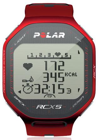 Polar RCX5 Multi Hartslagmeter Rood