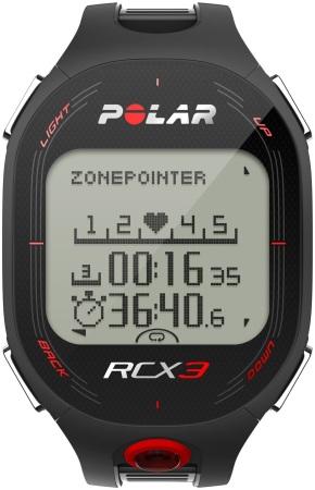 picture RCX3 Hartslagmeter Zwart