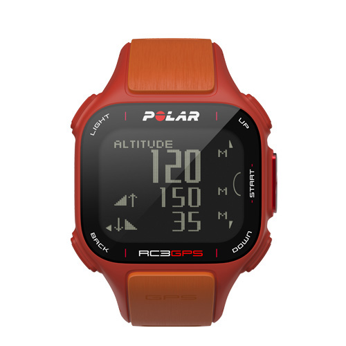 Polar RC3 GPS met Hartslagmeter Oranje