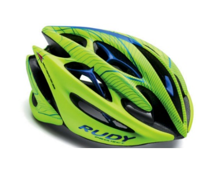 picture Sterling Le Fluo Yellow/Blue Helm