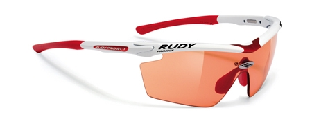 picture Genetyk Racing White ImpactX Photochromic Red Zonnebril
