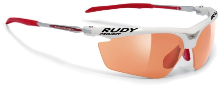 picture Magster Racing White ImpactX Photochromic Red Sportbril