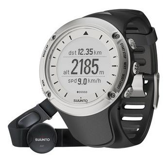 picture Ambit GPS Horloge Zilver Hartslagmeter (met borstband)