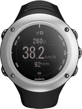 picture Ambit 2S Graphite HR GPS Horloge