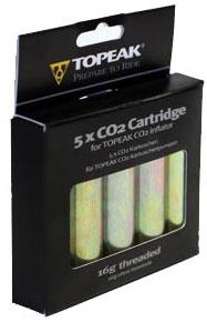 picture CO2 Patronen met schroefdraad