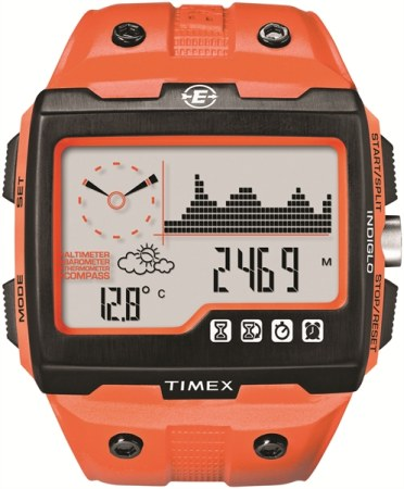 picture Expedition WS4 Full Size Outdoorhorloge Oranje