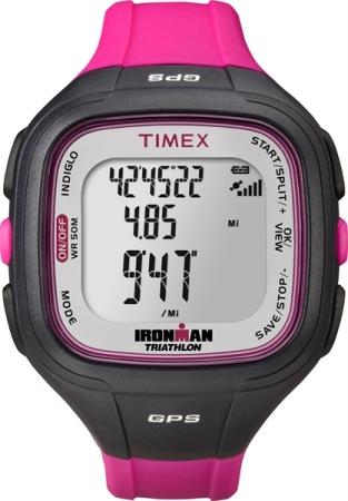 Timex Easy Trainer GPS Horloge Zwart/Roze