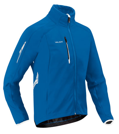 picture Kuro Softshell Fietsjack Blue Heren