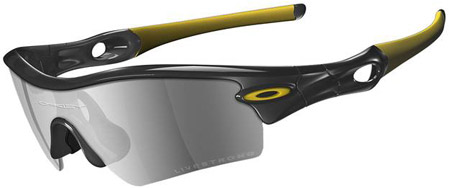 picture Livestrong Radar Path Jet Black/Black Iridium Zonnebril