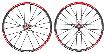 picture Red Metal Zero XRP Disc MTB Wielset