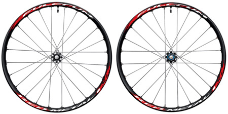 picture Red Metal 1 XL Black/Silver Disc MTB Wielset