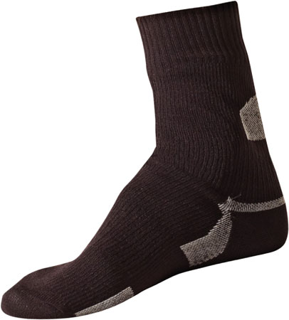 picture Thin Ankle Length Sock Zwart