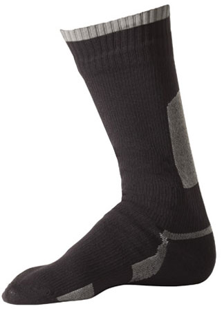 picture Thin Mid Length Sock Zwart