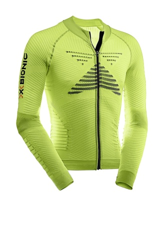 picture Fietsshirt Lange Mouwen Effektor Power Biking Geel Heren