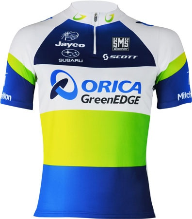 picture Orica-GreenEdge Cycling Fietsshirt 2013