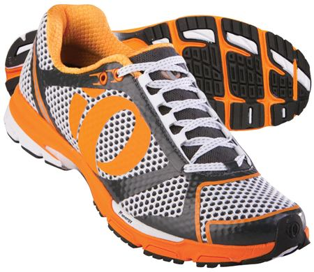 Kissaki Black/Safety Orange Heren Hardloopschoen