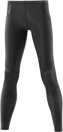 picture A400 Long Tights Dames Zwart/Zilver