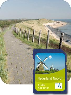 Satmap Topo Nederland Noord Active 10 Plus Serie