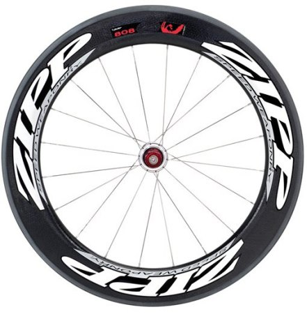 picture 808 Carbon Clincher Achterwiel Wit