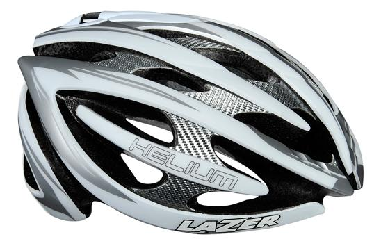 picture Helium Wit/Zilver Race Helm