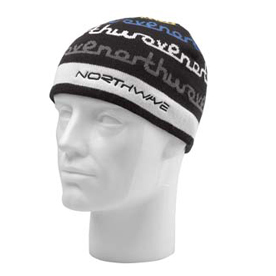 picture Beanie Head Cover Black