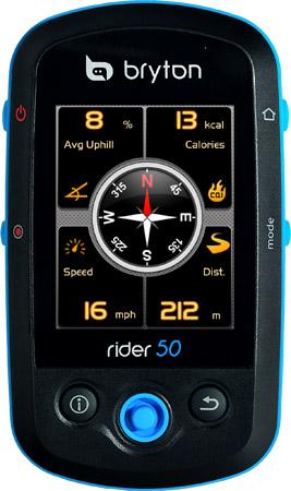Bryton GPS en Navigatiesystemen