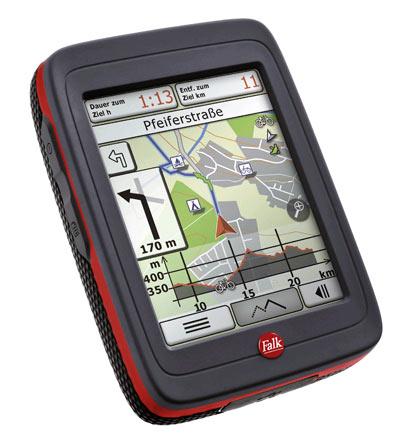 Falk Ibex 40 GPS Duitsland