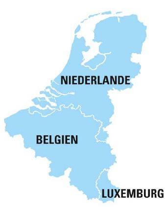 Falk Premium Benelux Kaart