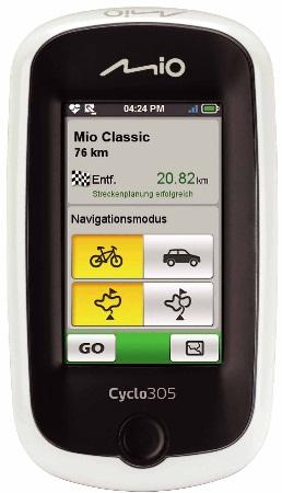 MIO GPS en Navigatiesystemen
