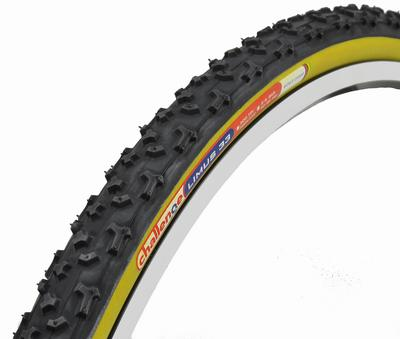 picture 700X33C Limus Open 33 Zwart/Bruin Cyclocross Vouwband