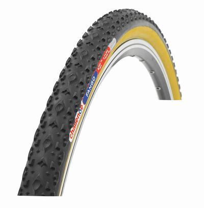 picture 700X33C Fango Open 33 Zwart/Bruin Cyclocross Vouwband