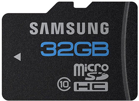picture 32GB Micro SDHC Card Class 10